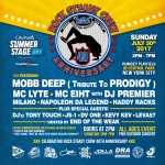 Napoleon Da Legend performing at the Rock Steady Crew 40th Anniversary Summer Stage Show